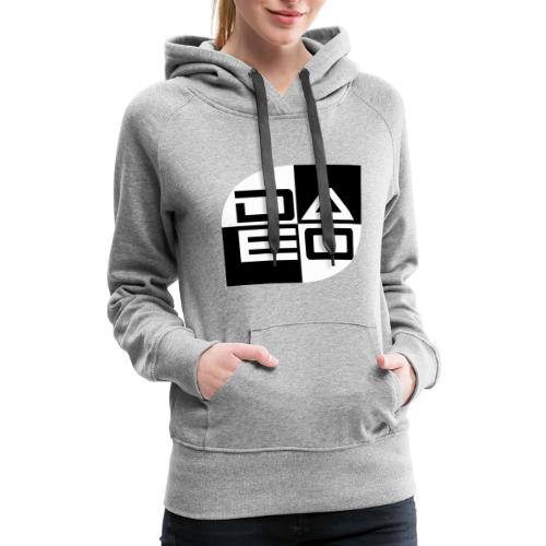 DAE0 logo with pointed edges - Women's Premium Hoodie