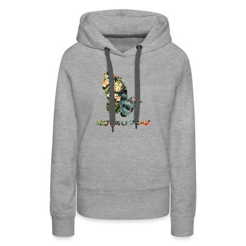 sirjunglesponge floral - Women's Premium Hoodie