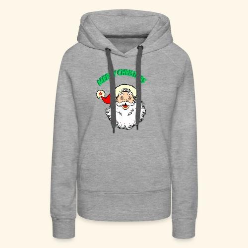 merry christmas santa claus - Women's Premium Hoodie