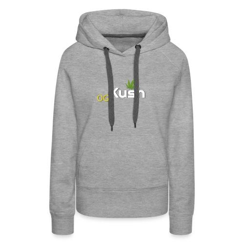 OG Kush t shirt - Women's Premium Hoodie