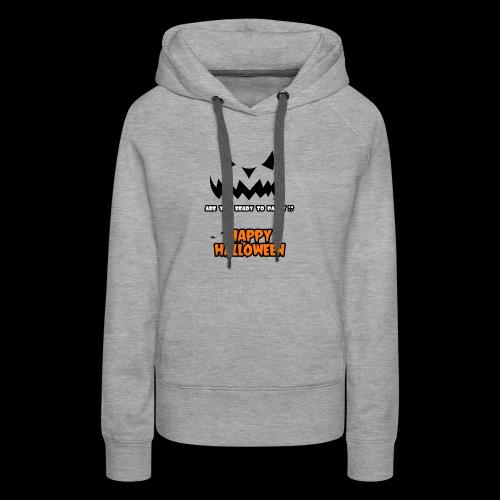 happy halloween day t-shirt for men, women , youth - Women's Premium Hoodie