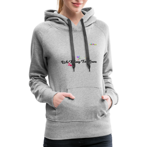 playRN | logo tshirt Alphabet ABCs Learning Tee - Women's Premium Hoodie