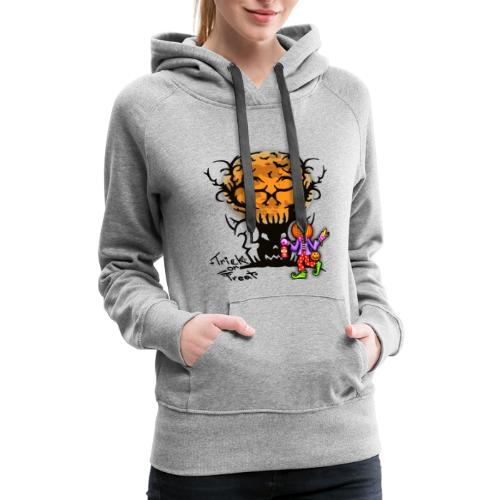 Trick Or Treat T-shirt | Halloween Tee - Women's Premium Hoodie
