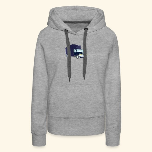 Truck Driver T Shirt Delivery - Women's Premium Hoodie