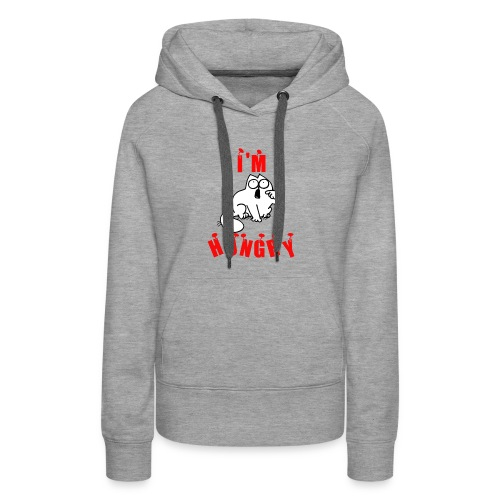 tshirt new I m hungry - Women's Premium Hoodie