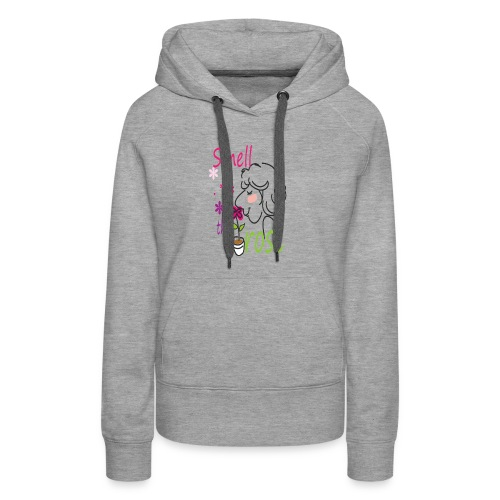 smell the rose - Women's Premium Hoodie