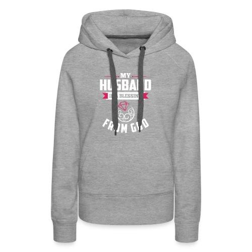 myhusbandisblessing designhd - Women's Premium Hoodie