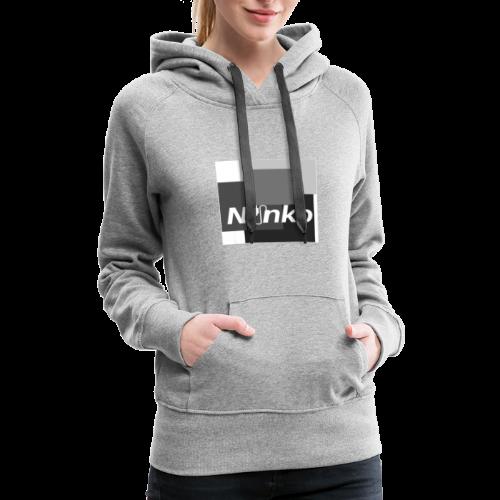 Ninko Black and White - Women's Premium Hoodie