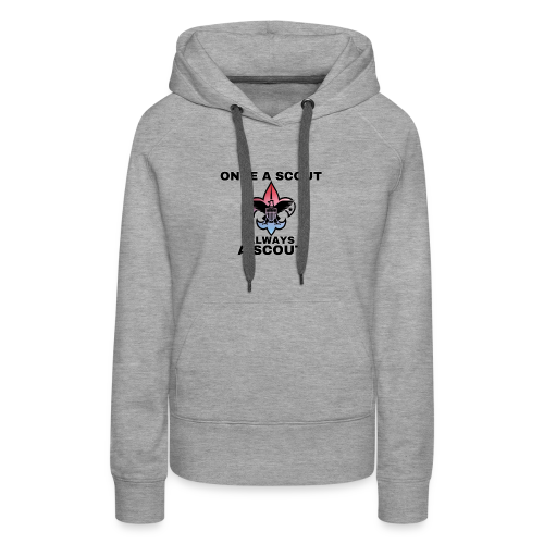 Once A Scout Always A Scout - Women's Premium Hoodie