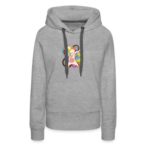 dabbing unicorn - cool unicorn - unicorn dab - Women's Premium Hoodie
