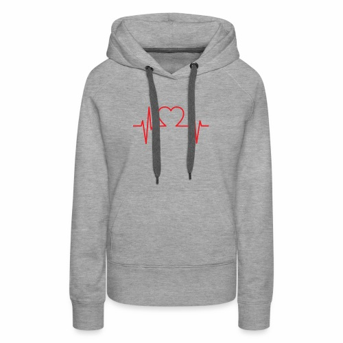 blood pressure love - Women's Premium Hoodie