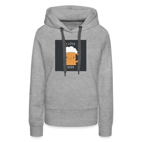 i love beer - Women's Premium Hoodie