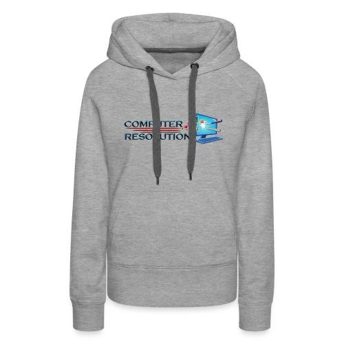 Colored Computer Resolution - Women's Premium Hoodie
