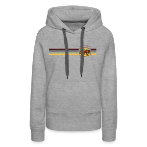 Badge and Stripes - Women's Premium Hoodie