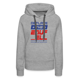 Protest peacefully with this statement that you've - Women's Premium Hoodie