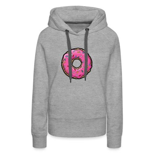 Donuts for Girls - Women's Premium Hoodie