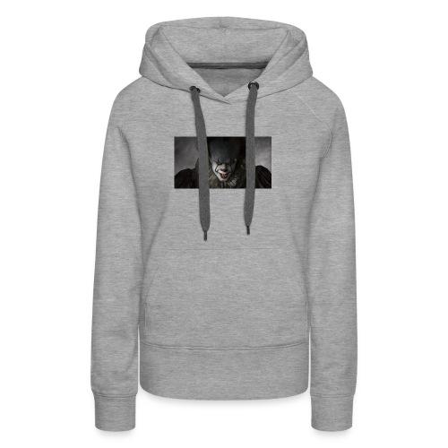 IT movie Pennywise tshirt - Women's Premium Hoodie