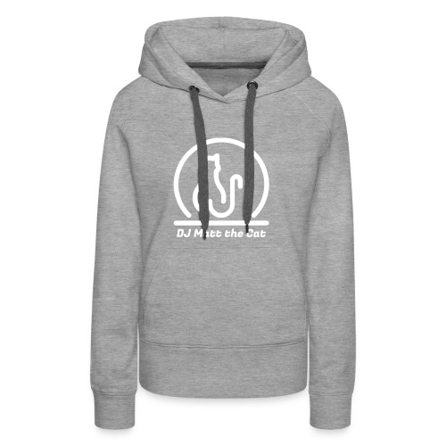 DJ Matt the Cat Logo - Women's Premium Hoodie