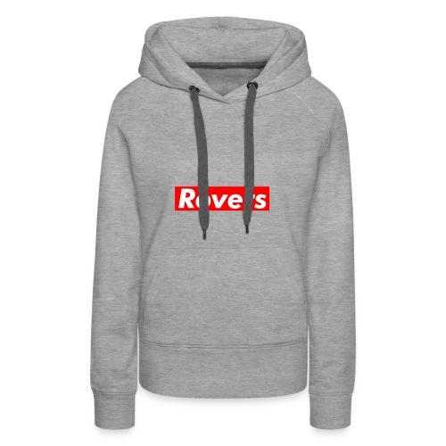 Supreme type Rovers Logo T- Shirt - Women's Premium Hoodie