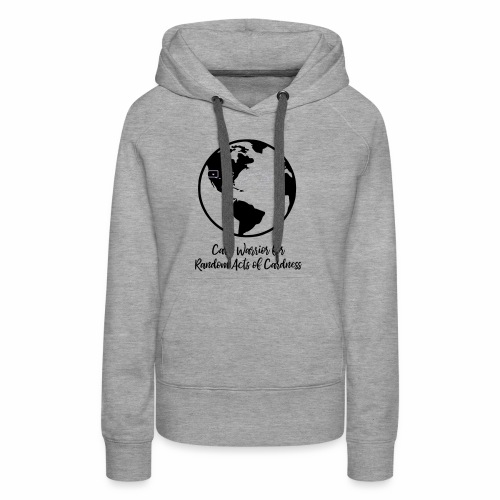 Globe - Card Warrior for Random Acts of Cardness - Women's Premium Hoodie
