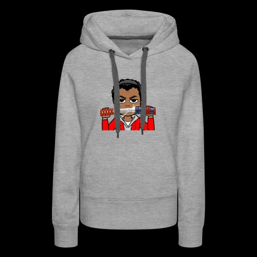 Cartoon Temmy - Women's Premium Hoodie