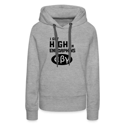 High on Endorphins 01 - Women's Premium Hoodie
