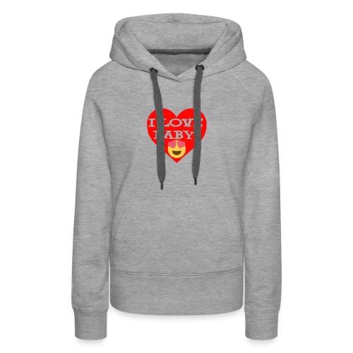 LOVE BABY - Women's Premium Hoodie
