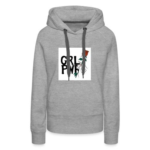 power girl - Women's Premium Hoodie