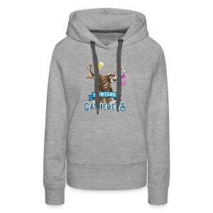 Funny Oktoberfest T Shirt Hunters Gatherers - Women's Premium Hoodie