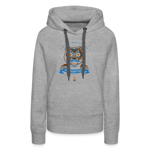 Grizz Day of the Dead - Women's Premium Hoodie