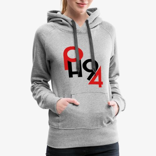 Puckhead1994 Logo - Women's Premium Hoodie