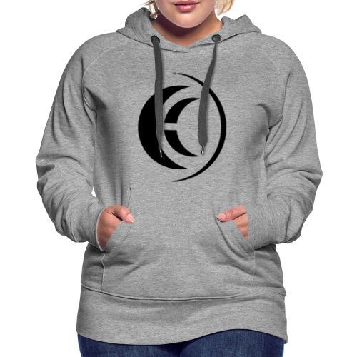 Eklipse Black Logo - Women's Premium Hoodie