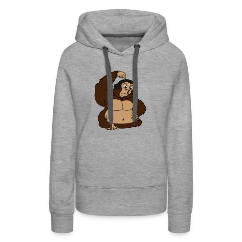 fat monkey v2 by playfulpossum d5r83ik - Women's Premium Hoodie