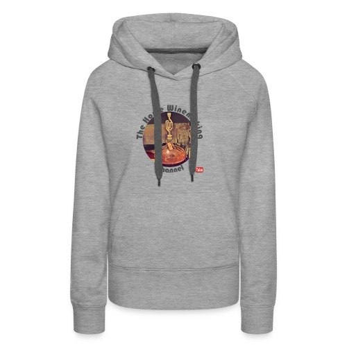 Carboy Grey Words - Women's Premium Hoodie