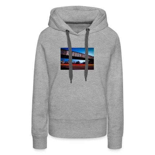 Husttle City Bridge - Women's Premium Hoodie