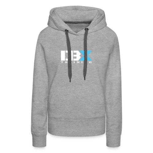 DB X Training logo white - Women's Premium Hoodie