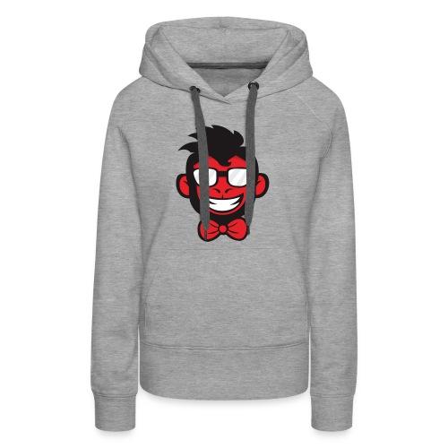 red monkey - Women's Premium Hoodie