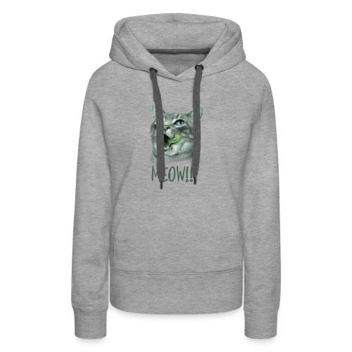 Cat Design For T-Shirt, Hoodies, Tank Tops - Women's Premium Hoodie