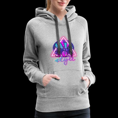 MIA305style 80s - Women's Premium Hoodie