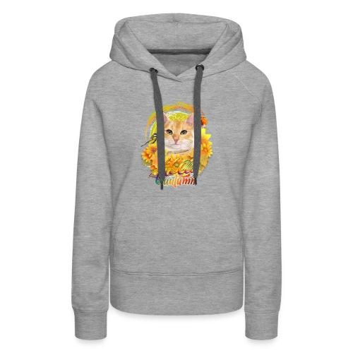 Autumn Cat - Women's Premium Hoodie