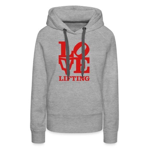 Love Lifting - Women's Premium Hoodie