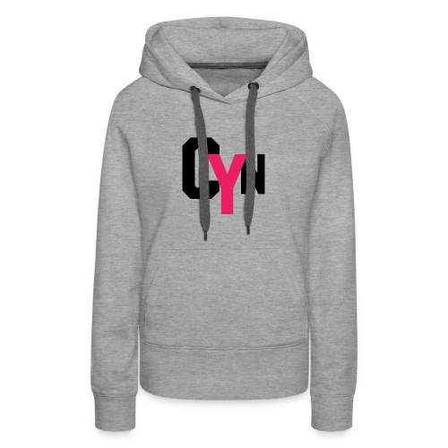 CYN logo - Women's Premium Hoodie