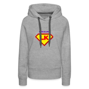 Supervillain by Lil Kodak - Women's Premium Hoodie