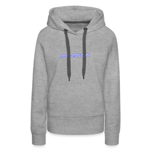 Cool 3D text merchandise - Women's Premium Hoodie