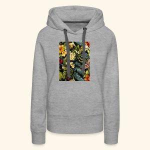 Flower BB - Women's Premium Hoodie