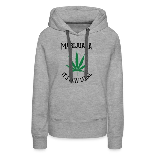 marijuana fan t-shirt - Women's Premium Hoodie