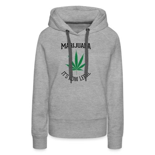 marijuana fan t-shirt - Women's Premium Hoodie