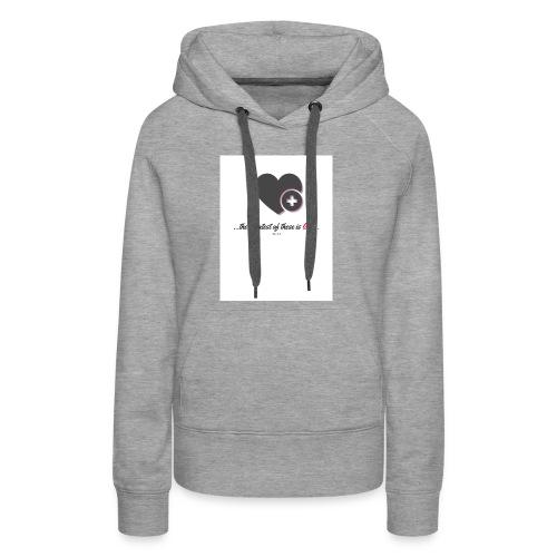 love t - Women's Premium Hoodie