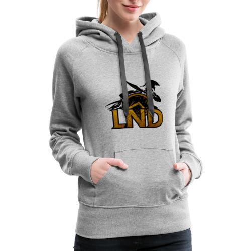 LND Logo Design - Women's Premium Hoodie