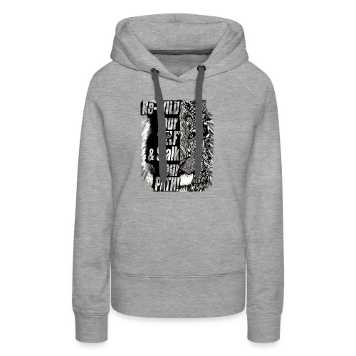 Re-WILD and Stalk Tees - Women's Premium Hoodie
